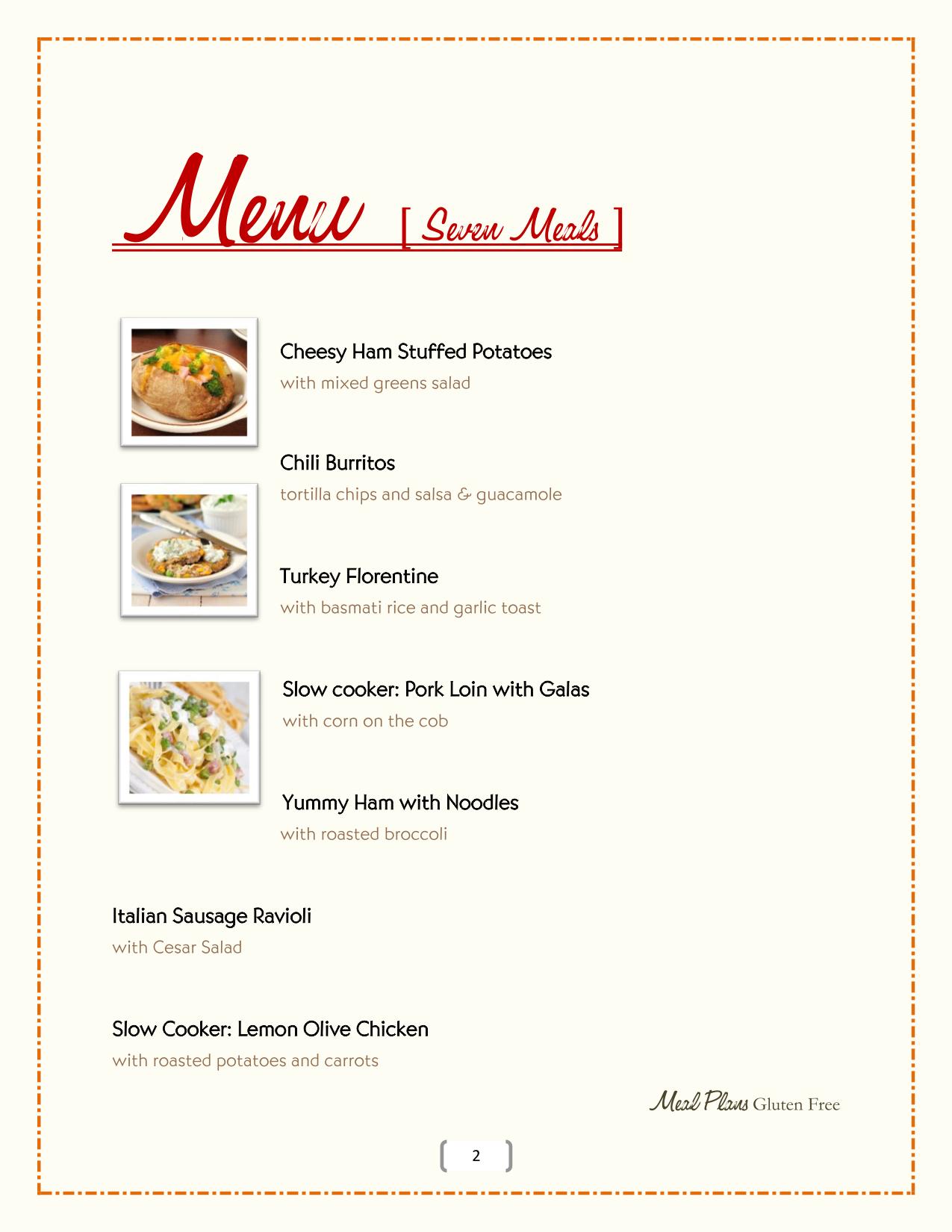 Meal Plans Slider 2 – 2